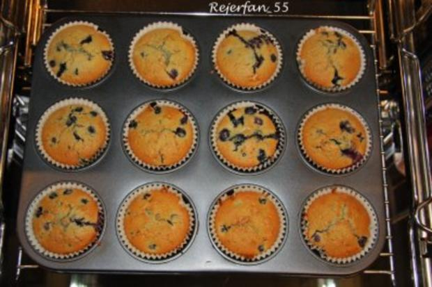 Blaubeermuffins mit Orangennote - Rezept - Bild Nr. 6