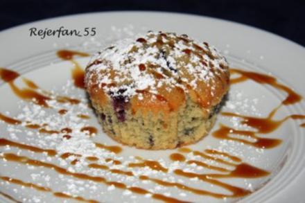 Blaubeermuffins mit Orangennote - Rezept
