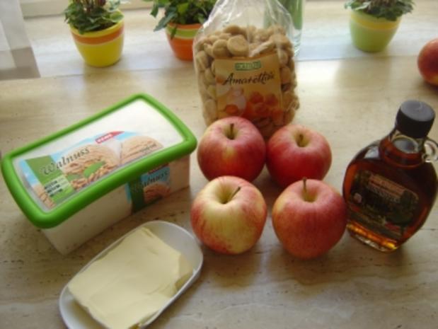 Gebratene Äpfel mit Eis - Rezept - Bild Nr. 2