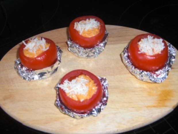 Gefüllte Grilltomaten - Rezept