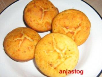 Rezept: Käsemuffins