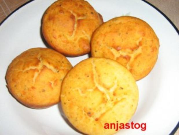Käsemuffins - Rezept