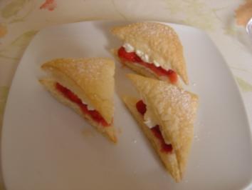Himmlische Erdbeer-Flügelchen - Rezept