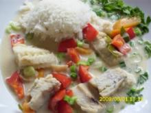 Fisch:  Fisch  leicht und scharf - Rezept