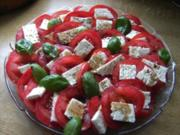 Tomate trifft Schafskäse - Rezept