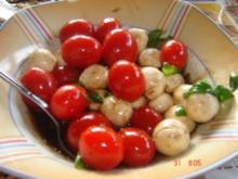 5 min. Tomaten-Mozzarella Salat - Rezept