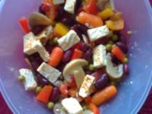 Bunter Gemüse- Salat - Rezept