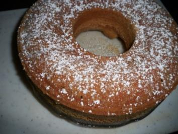 Erdnusskuchen - Rezept