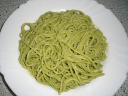 Spinat-Pecannuss-Pesto - Rezept