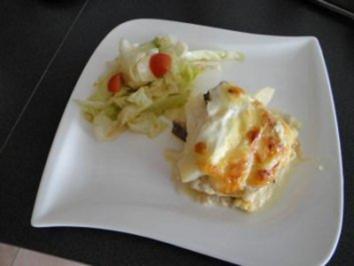 Rezept: Käse - Birne - Auflauf
