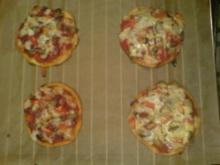 Mini-Pizza - Rezept