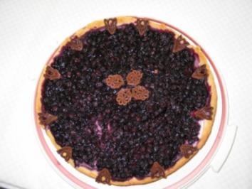 Heidelbeer- Tarte - Rezept