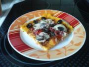 Polenta - Pizza - Rezept