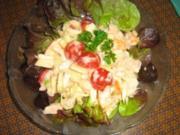 Kunterbunter Apfel-Fenchelsalat - Rezept