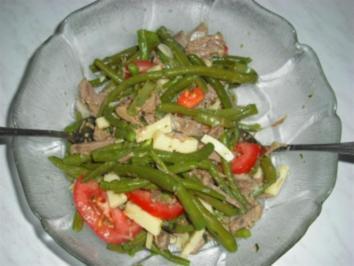 Grüner Bohnensalat - Rezept