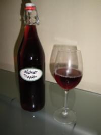 Apperitif mit Wein = Hüchlertropfe - Rezept