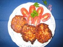 Tomaten-Schafskäse-Puffer, kalt und warm zu essen - Rezept