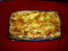 Lasagne mit Pfifferlingen mit selber gemachten Blätter - Rezept