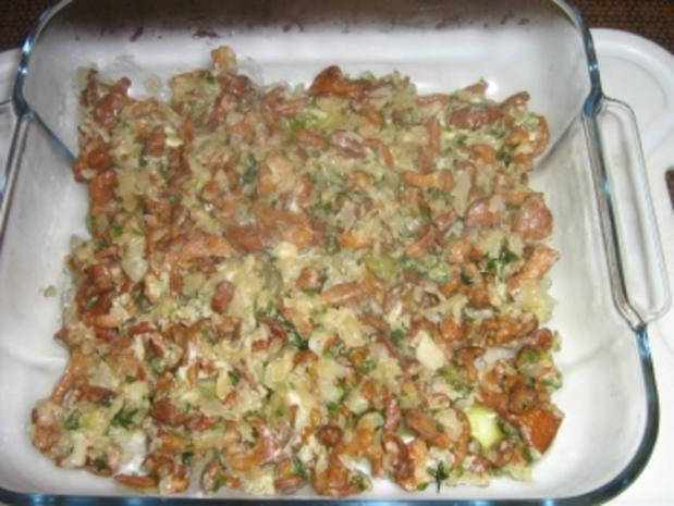 Hähnchenbrust mit Pfifferlingen in Blätterteig - Rezept - Bild Nr. 7