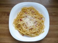 Carbonara Sauce Italien Style - Rezept