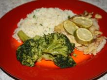 Limetten - Kalbsschnitzel - Rezept