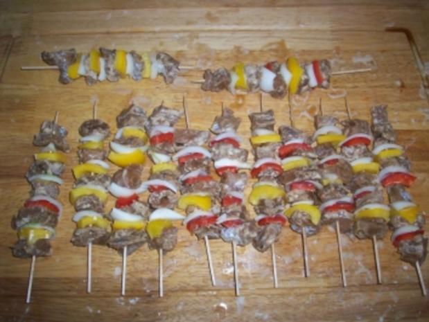 Backfisch-Schaschlik - Rezept - Bild Nr. 3