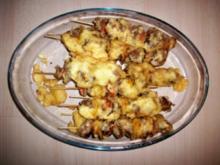 Backfisch-Schaschlik - Rezept