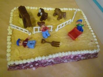 Geburtstagstorte für Heinz - Rezept