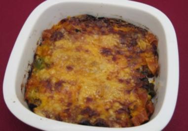 Gehacktes-Gemüse-Lasagne - Rezept