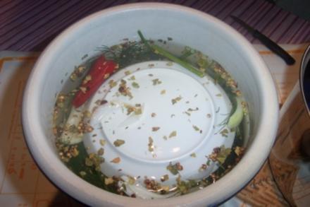 Gurken süß-sauer eingelegt - Rezept