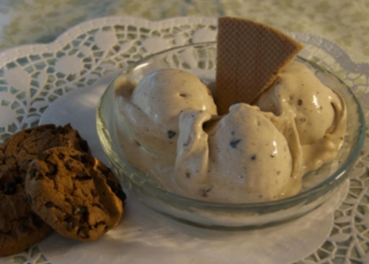"""Eis """"Cookies 'n' Cream"""" - Rezept Durch nanuuk"""