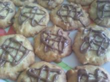 Kekse / Plätzchen - Peanut Cookies - Rezept