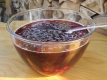 Sauerkirsch-Amaretto-Bowle - Rezept