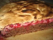 Träubleskuchen mit Baiser - Rezept