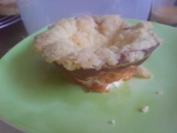 Muffins Kasekuchen Mit Streuseln Rezept Kochbar De