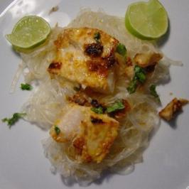 Fisch in Sesamhülle - Rezept