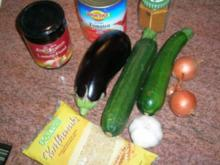 Kritharaki mit Gemüse und Lammfleisch (griechische Nudelspezialität mit Lammhack -geht auch mit Rind, wer Lamm absolut nicht mag) - Rezept