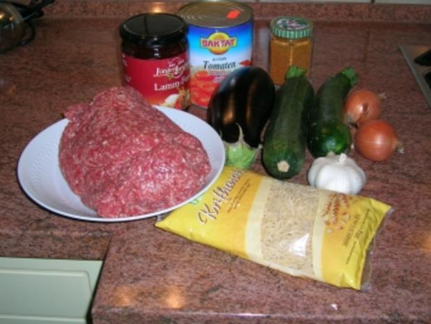 Kritharaki mit Gemüse und Lammfleisch (griechische Nudelspezialität mit Lammhack -geht auch mit Rind, wer Lamm absolut nicht mag) - Rezept - Bild Nr. 3