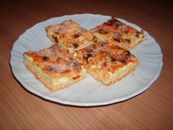 2 Blech Kasekuchen Mit Streusel Und Streuseln Rezepte Kochbar De