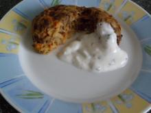 Linsenfrikadellen in Joghurt und Minze - Rezept
