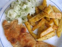 Kartoffel - Spalten aus dem Backofen - Rezept