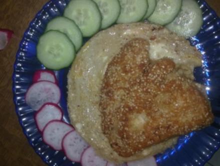 Hähnchenbrustfilet mit Sesam-Panade - Rezept