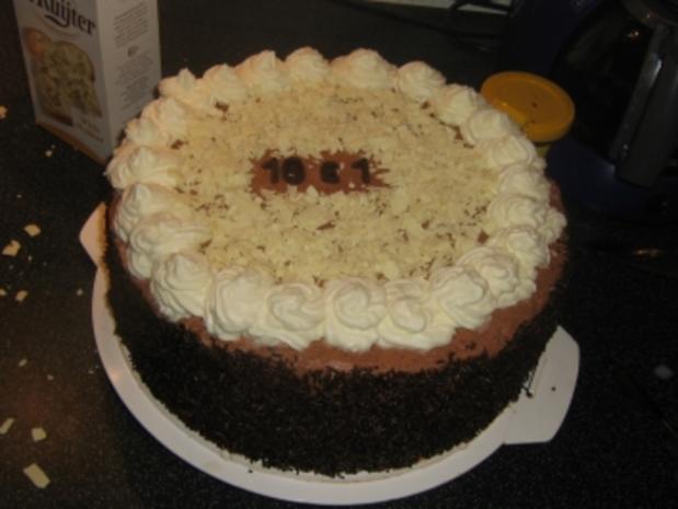 Schoko-Sahne-Torte - Rezept