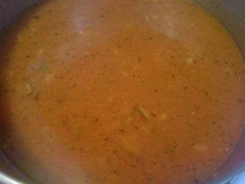 "Suppe ""Paprika-Tomaten-Suppe"" - Rezept"