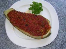 Gefüllte Zucchini ! - Rezept