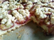 Kuchen : Pflaumen - Streusel - Kuchen - Rezept