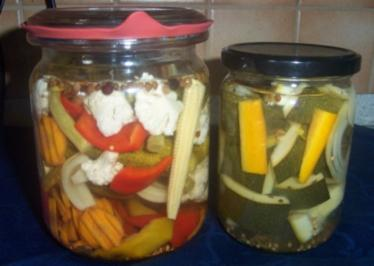 Mixed Pickles - Rezept