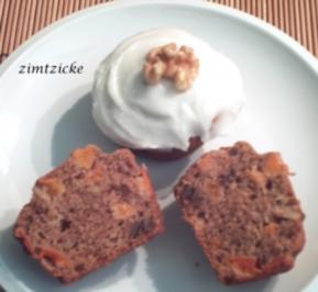 Aprikosen-Walnuss-Muffins - Rezept