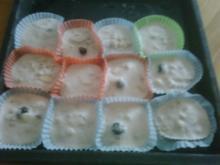 Eisige Kirschmuffins - Rezept