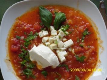 Suppe:  Aus der Not 'ne Tugend gemacht - Rezept